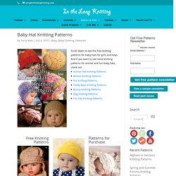 Baby Hat Knitting Patterns