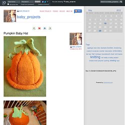 baby_projects - Pumpkin Baby Hat