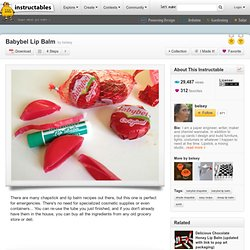 Babybel Wax Lip Balm