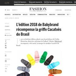L'édition 2018 de Babybrand récompense la griffe Cacatoès do Brasil - Actualité : creation (#935593)