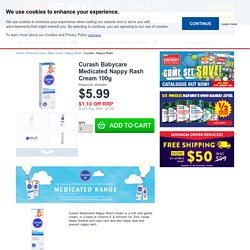 Buy Curash Babycare Medicated Nappy Rash Cream 100g Online at Chemist Warehouse®