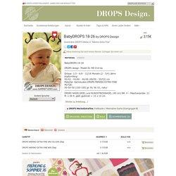 """BabyDROPS 18-26 - Gestrickte DROPS Mütze in """"Merino Extra Fine"""". - Free pattern by DROPS Design"""