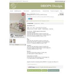 BabyDROPS 13-5 - Gilet, pantalon, bonnet, moufles et chaussettes DROPS en Alpaca - Free pattern by DROPS Design