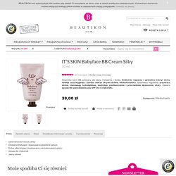 IT'S SKIN Babyface BB Cream Silky - BEAUTIKON.com