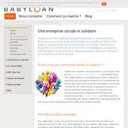 Babyloan, une entreprise sociale et solidaire