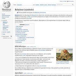 Babylone (symbole)