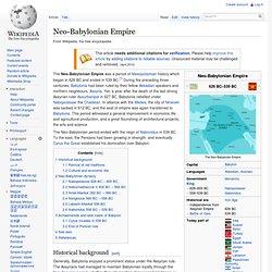Neo-Babylonian Empire