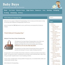 Which Babymel Changing Bag? - Baby BuysBaby Buys