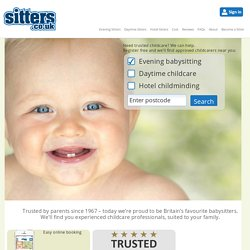 Sitters Babysitting - Nationwide Evening & Daytime Childcare