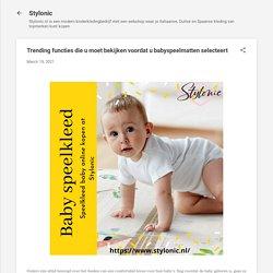 Trending functies die u moet bekijken voordat u babyspeelmatten selecteert