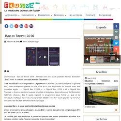 Bac et Brevet 2016 réviser avec l'appli Nomad éducation - Educavox