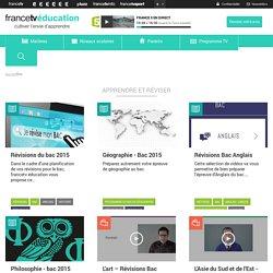Apprendre et réviser le Bac avec FranceTvEducation