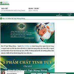 Bác sĩ thẩm mỹ Trần Phương - Nguyên Lam - Medium