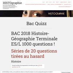 Bac Quizz