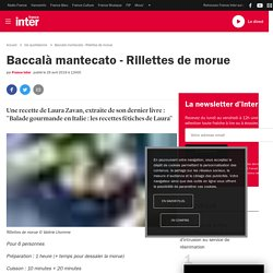 Baccalà mantecato - Rillettes de morue