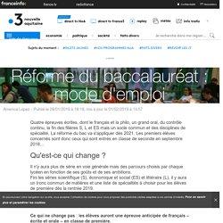 Réforme du baccalauréat : mode d'emploi - France 3 Nouvelle-Aquitaine