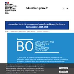 Bac Pro Enseignement Général Modalités d'évaluation (BO n°30, 23/07/20)
