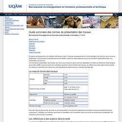 Baccalauréat en enseignement en formation professionnelle et technique