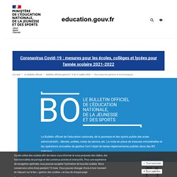 BO du 31 juillet 2020 - Evaluations communes LVE