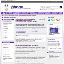 Baccalauréat technologique - Série STMG à partir de 2014