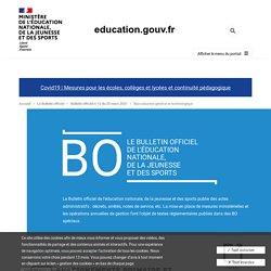 Organisation du Baccalauréat général et technologique 2021