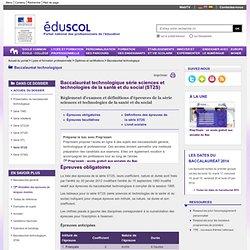 Baccalauréat technologique - Série ST2S à partir de 2014