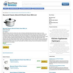 Baccarat Classic 24cm/4.5l Dutch Oven With Lid
