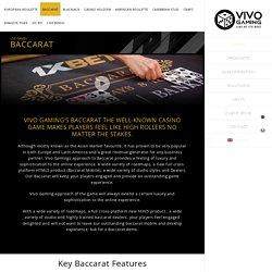Live Baccarat Software, Live Dealer Baccarat Platform
