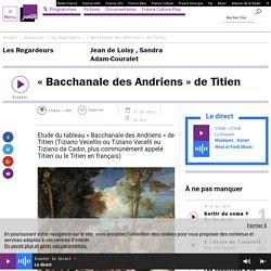 « Bacchanale des Andriens » de Titien