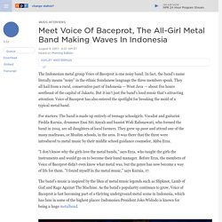 Meet Voice Of Baceprot, The All-Girl Metal Band Making Waves In Indonesia