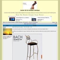 Bach pour luth ou guitare