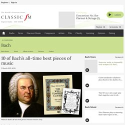 10 of Bach's all-time best pieces of music