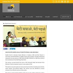 Beti Bachao Beti Padhao Abhiyan – IIP Foundation