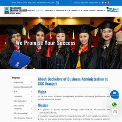 Bachelor of Business Administration - CGC Jhanjeri