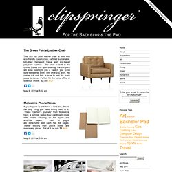 Clipspringer Bachelor Pad Blog
