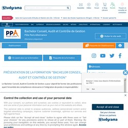 Bachelor Audit et expertise comptable - PPA