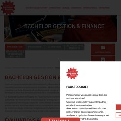 Bachelor Gestion & Finance - IPAC Bachelor Factory