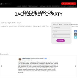 Bachelor Parties in Las Vegas, Attractions for Adults