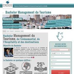 Bachelor Tourisme du Groupe Sup de Co La Rochelle