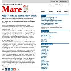 Mega-brede bachelor komt eraan 2012/02/16