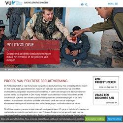 Politicologie - Opleidingen - Bacheloropleidingen, Vrije Universiteit Amsterdam
