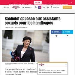 Bachelot opposée aux assistants sexuels pour les handicapés