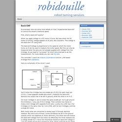 Back EMF « Robidouille