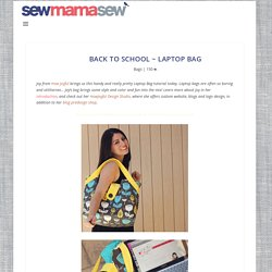 Back to School ~ Laptop Bag