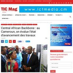 Central African Backbone : au Cameroun, on évalue l'état d'avancement des travaux - TIC Mag