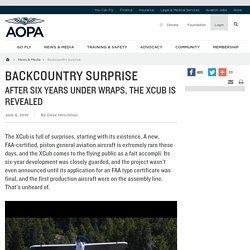 Backcountry surprise - AOPA