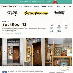 BackDoor 43 – Milan, Italy