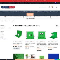 Chroma key Backdrop Kits - Backdropsource Australia