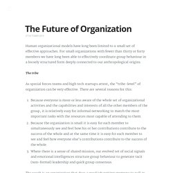 Backfeed - The Future of Organization