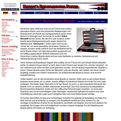 Hardy's Backgammon Pages - GAMMONER Backgammon-Boards